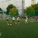 тренировка дриблинга в футболе