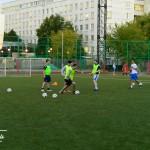 тренировка с мячом футбол