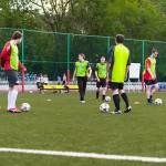 Тренировки по футболу